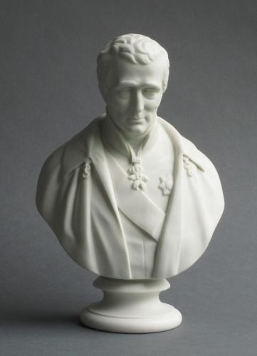 Copeland bust of the Duke of Wellington