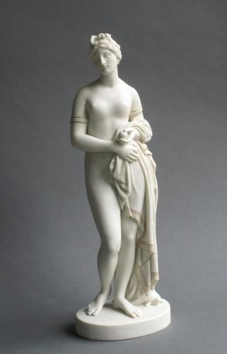 Copeland Parian figure of the Tinted Venus