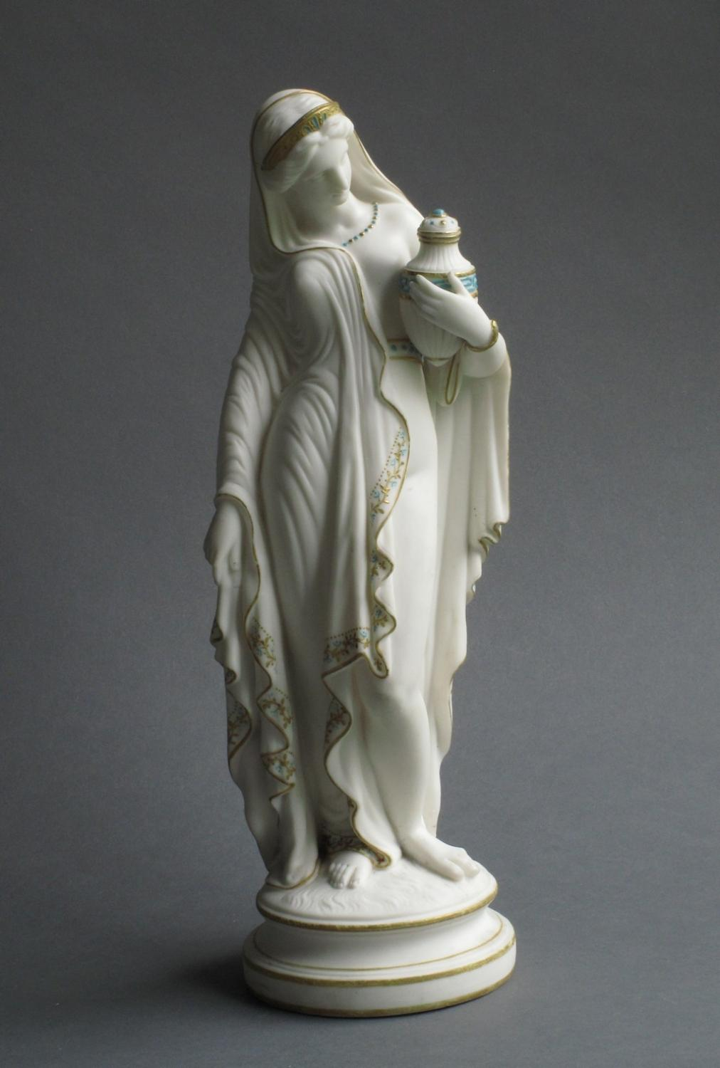 Parian figure of Phryne's companion