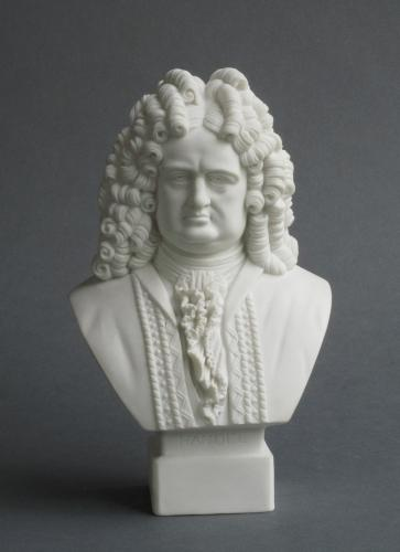 Robinson and Leadbeater bust of Handel