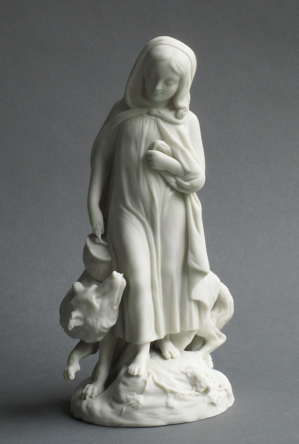 Copeland figure of Little Red Riding Hood