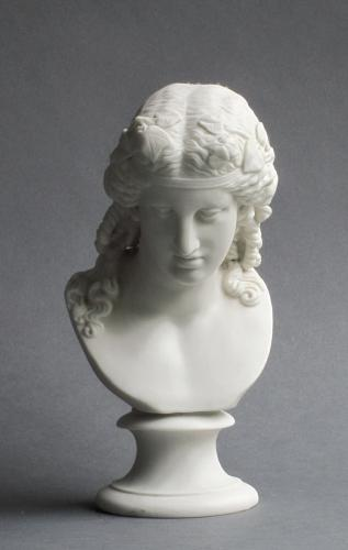 Parian bust of Ariadne, possibly by Minton