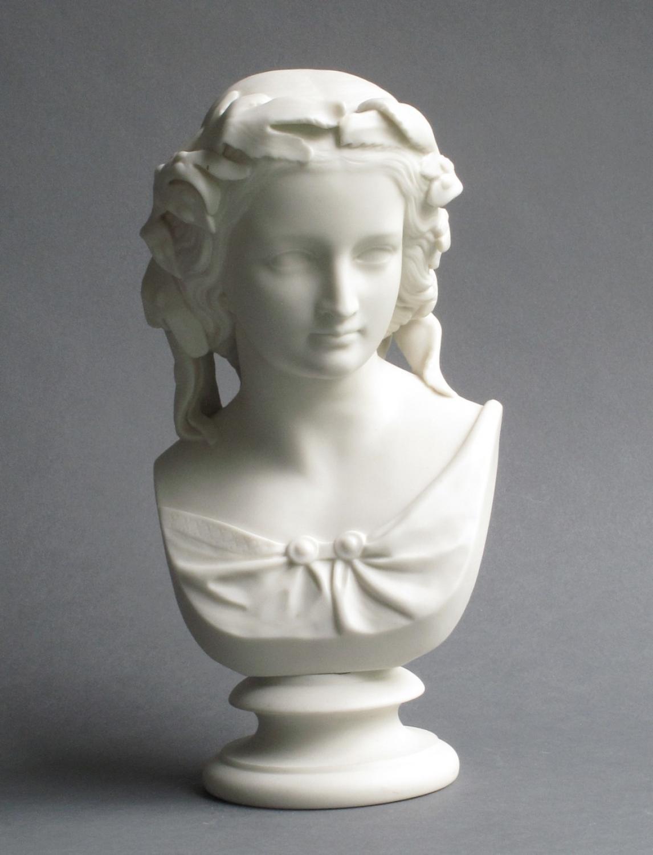Copeland parian bust of Miranda