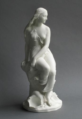 Minton parian figure of Miranda