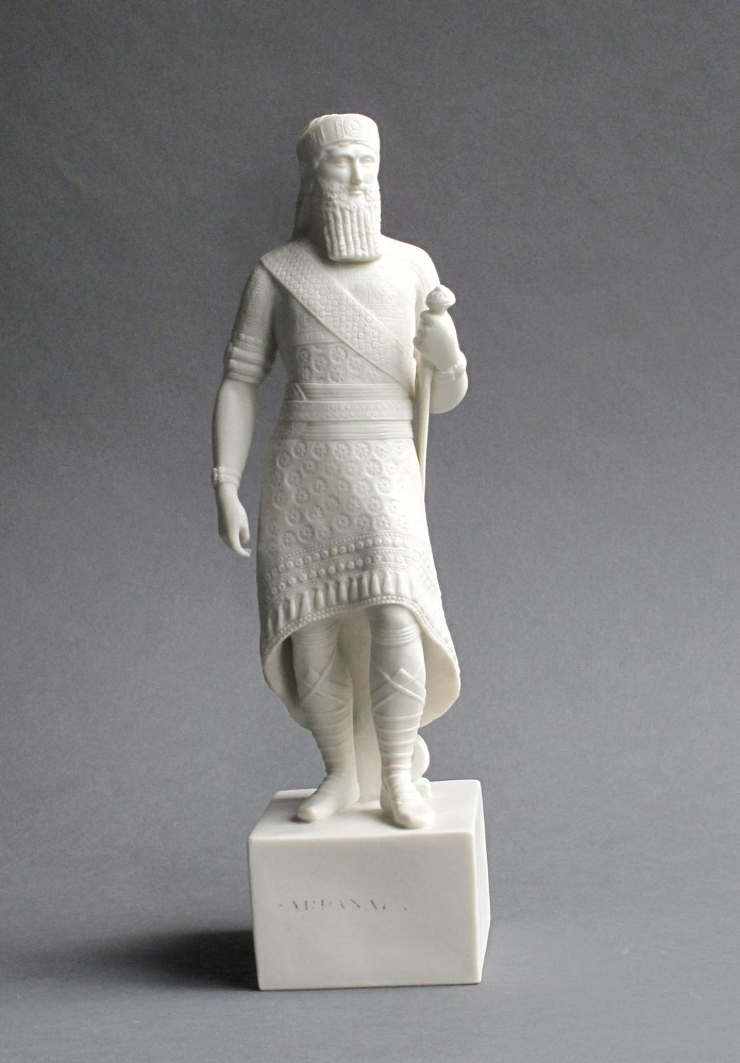 Copeland Parian figure of Sardanapalus