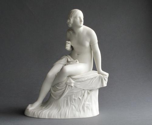 Copeland parian figure of Sabrina
