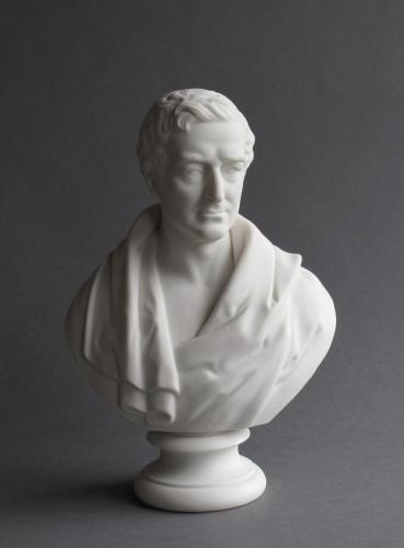 Parian bust of Sir Robert Peel c1850