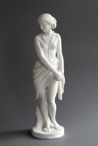 Minton Parian Abyssinian Slave Girl