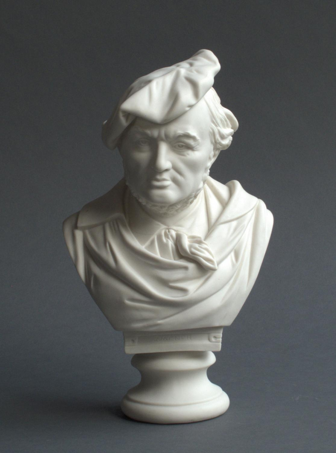 Parian Robinson & Leadbeater bust of Wagner