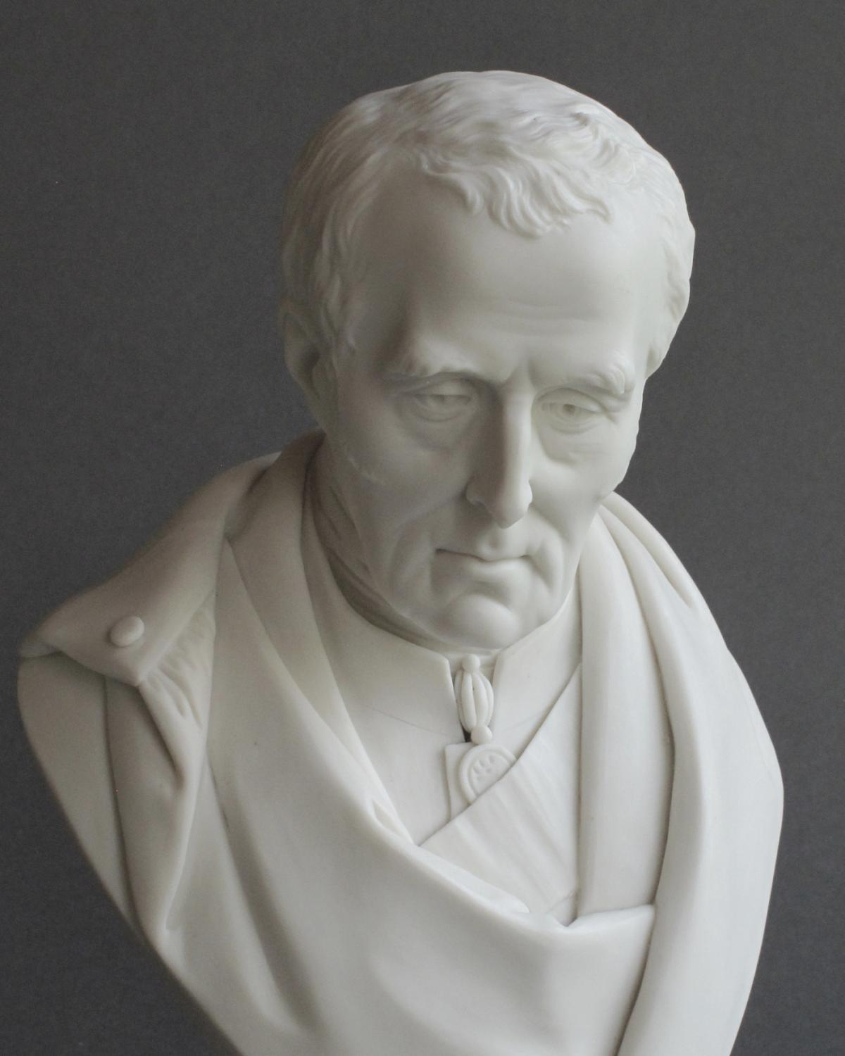 Duke of Wellington Parian bust by John Rose