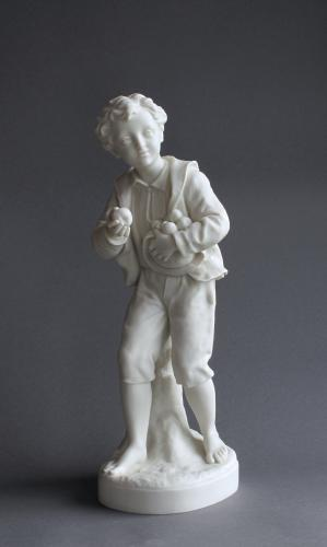 A Copeland Parian figure of