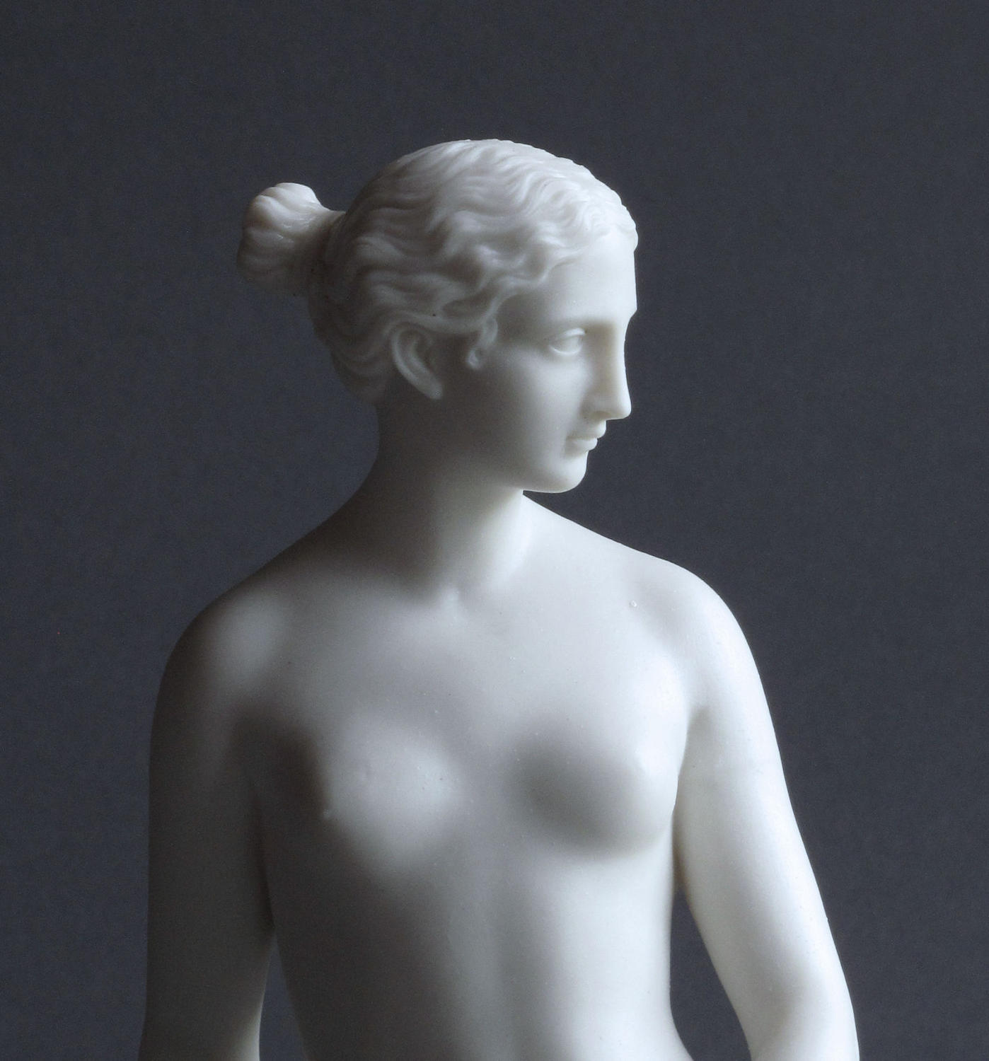 A Parian figure of the Greek Slave
