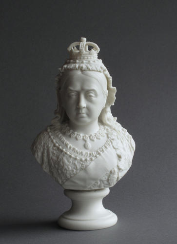 R&L Parian Jubilee bust of Queen Victoria