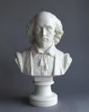 A fine Parian bust of Shakespeare by Copeland - picture 2