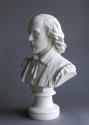 A fine Parian bust of Shakespeare by Copeland - picture 5