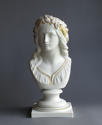 A tinted Parian bust of Ophelia by Copeland - picture 1
