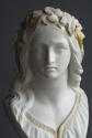 A tinted Parian bust of Ophelia by Copeland - picture 5