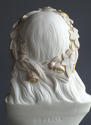 A tinted Parian bust of Ophelia by Copeland - picture 6