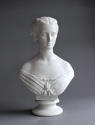 An elegant Parian bust of Princess Alexandra by Copeland - picture 1