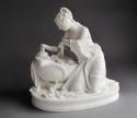 A charming Parian group of the Mother and First-Born by Minton - picture 1