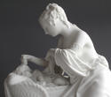 A charming Parian group of the Mother and First-Born by Minton - picture 6