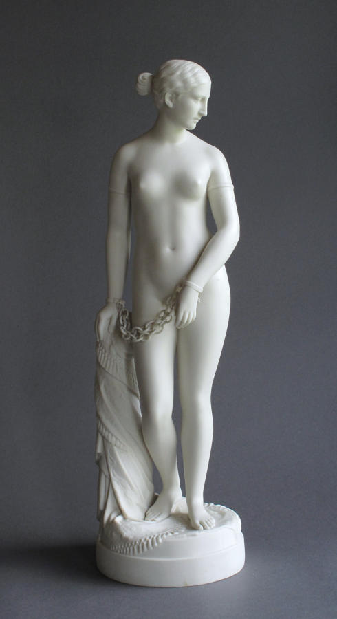 A Copeland Parian figure of The Greek Slave