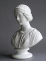 A Parian bust of a Renaissance Woman - picture 4