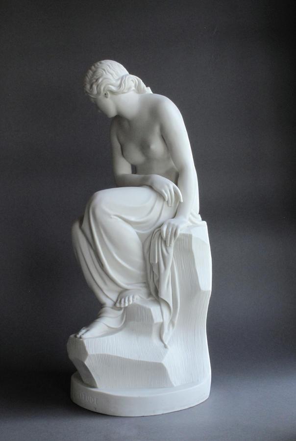 A Minton Parian figure of Solitude