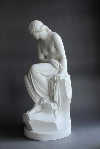 A Minton Parian figure of Solitude