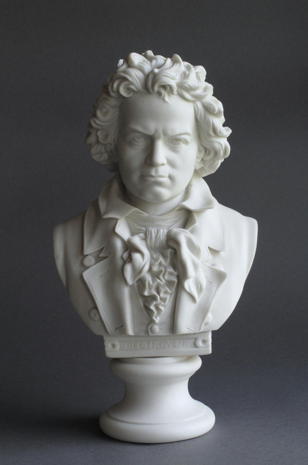 A good Parian bust of Beethoven