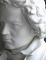 A good Parian bust of Beethoven - picture 7