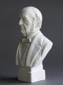 A small Parian bust of Gladstone by Robinson and Leadbeater - picture 4