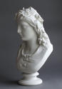 A good Parian bust of the Hop Queen by Copeland - picture 5