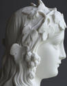 A good Parian bust of the Hop Queen by Copeland - picture 9