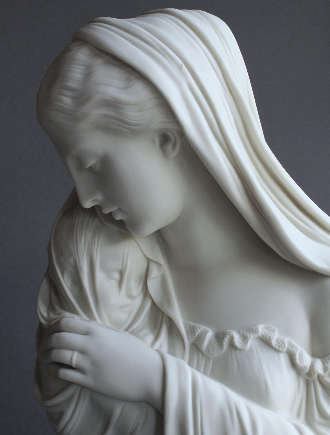 A Copeland Parian figure of The Mother, by Monti