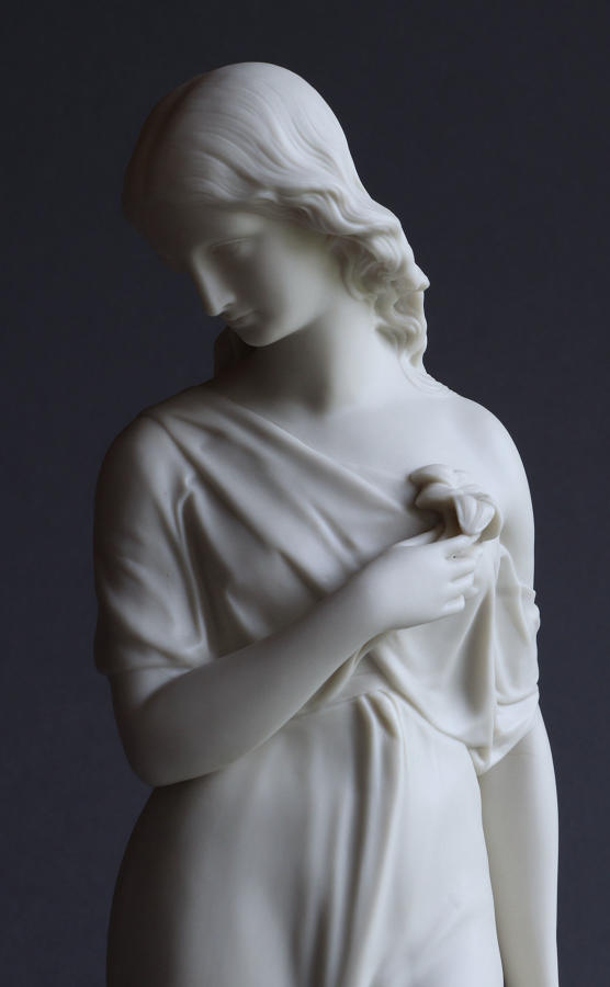A Copeland Parian figure of Purity