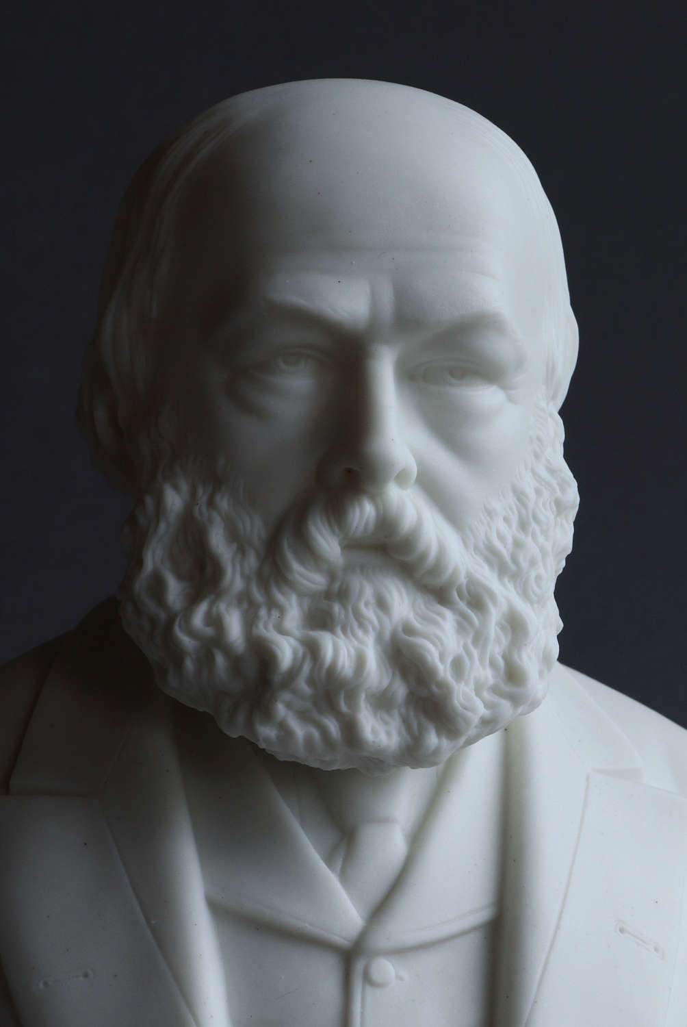 A Parian bust of Lord Salisbury by Robinson and Leadbeater