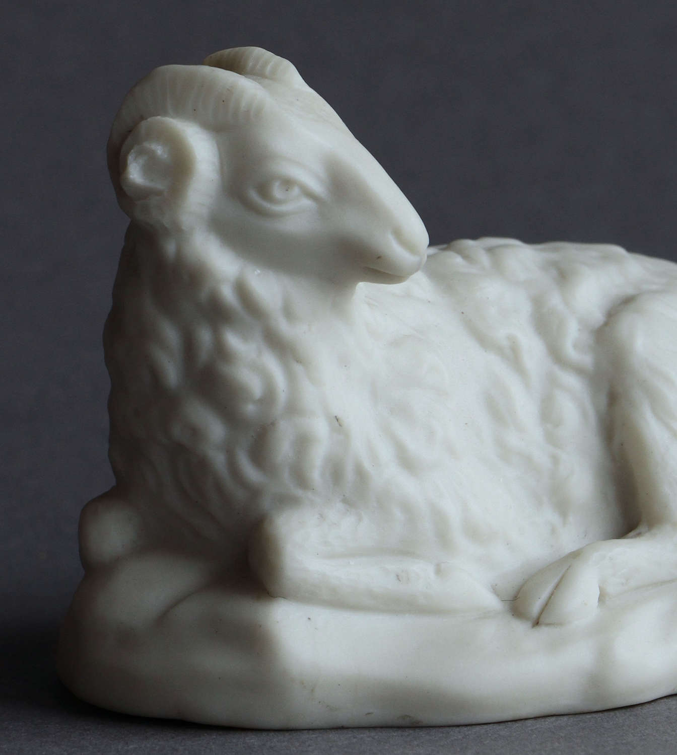 A small Copeland Parian model of a ram