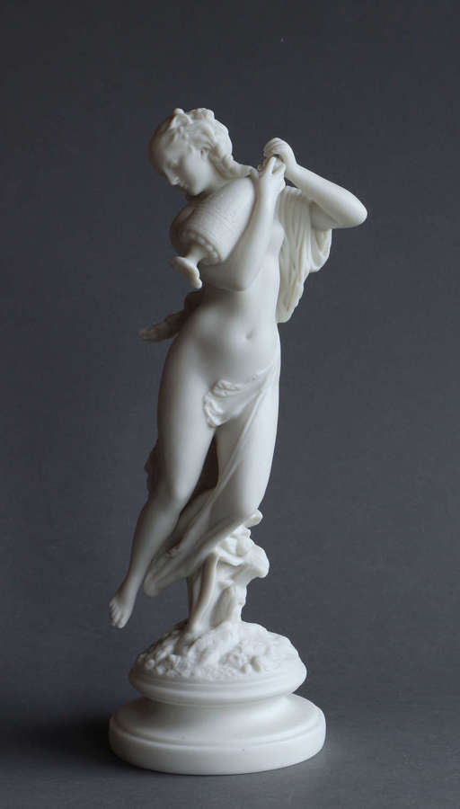 "A J&T Bevington Parian figure of ""Morning Dew"""