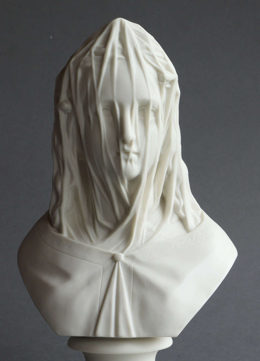A Worcester Parian bust of The Bride
