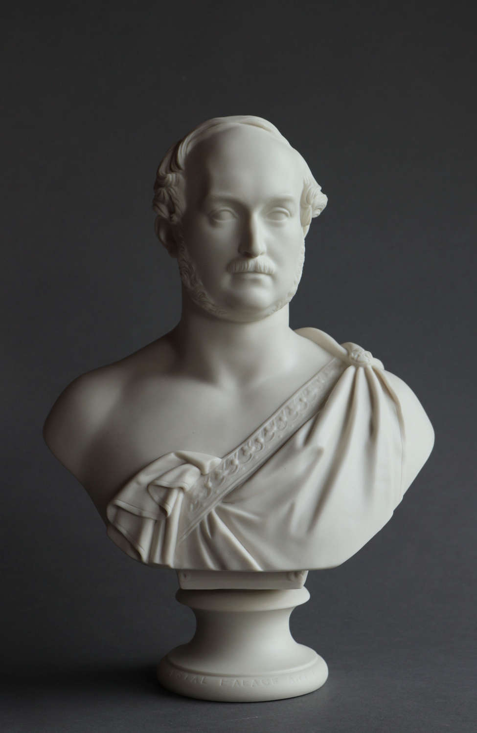 A Copeland Parian bust of Prince Albert by Theed